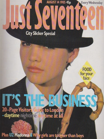 Just Seventeen Magazine - Nigel Limb