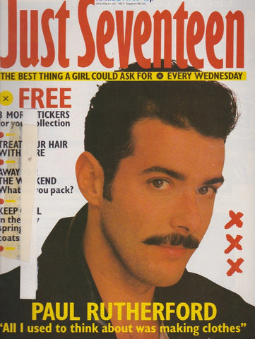 Just Seventeen Magazine - Paul Rutherford