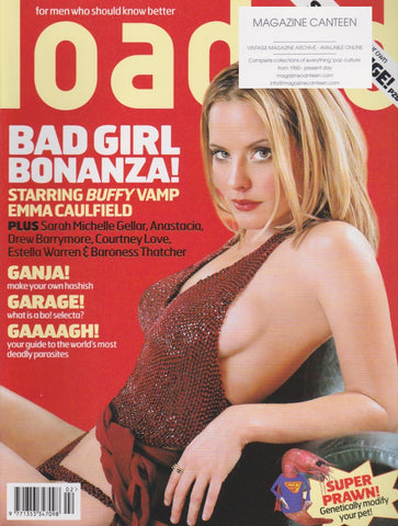 Loaded Magazine - Emma Caulfield