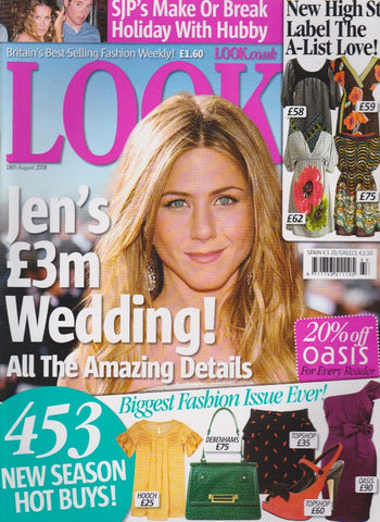 Look Magazine - Jennifer Aniston -
