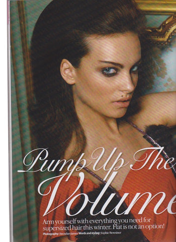 Look Magazine - BARBORA LISZTWANOVA - Pump up the volume