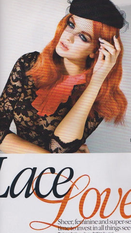 Look Magazine - Tiah Eckhardt  ? Lace Lover