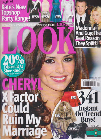 Look Magazine - Cheryl Cole