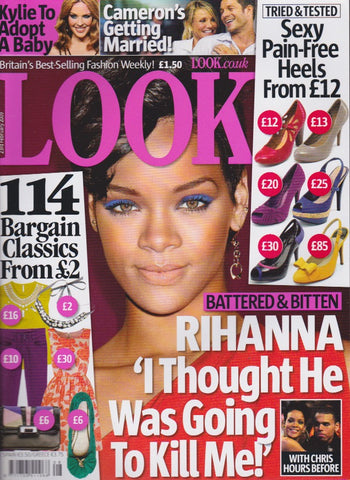 Look Magazine - Rihanna - Fearne Cotton