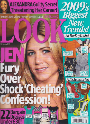 Look Magazine - Jennifer Aniston - Georgina Toms