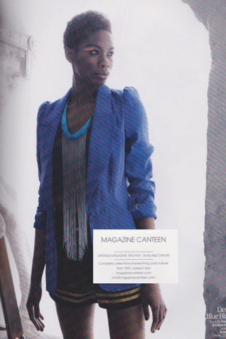 Look Magazine - Tolula Adeyemi - Fade to blue
