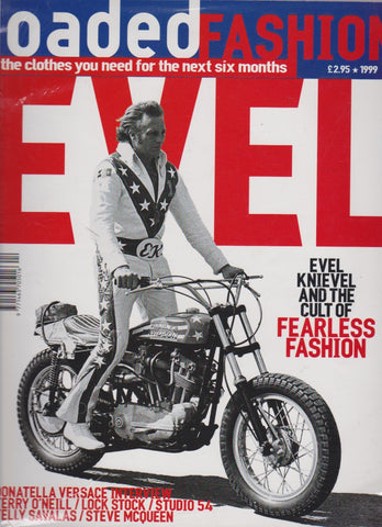 Loaded Fashion Magazine - Evel Knievel
