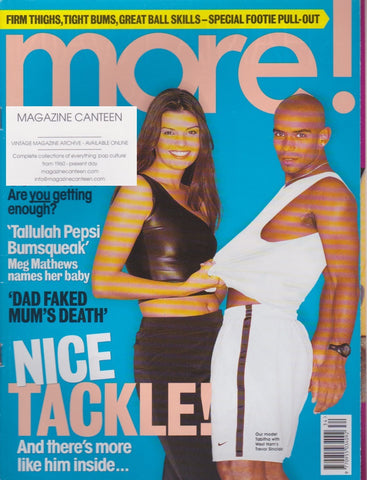 More Magazine - Trevor Sinclair