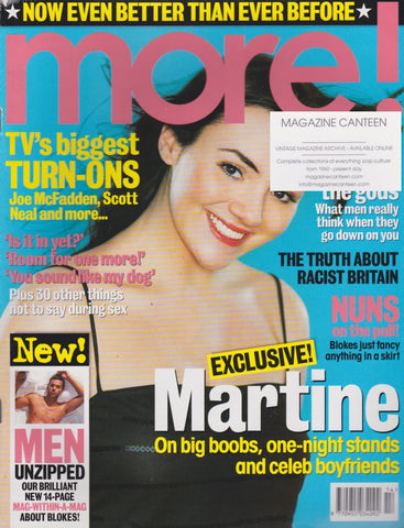 More Magazine - Martine McCutcheon