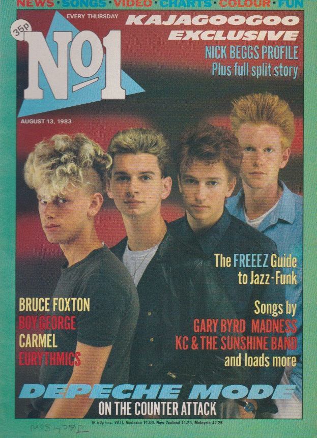 Number One Magazine 1983 - Depeche Mode