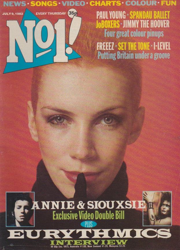 Number One Magazine 1983 - Annie Lennox