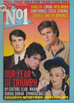 Number One Magazine 1983 - George Michael and others.
