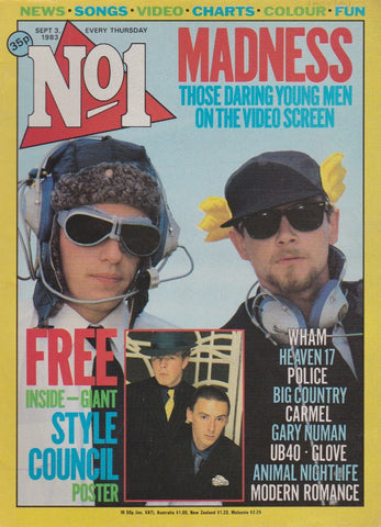 Number One Magazine 1983 - Madness