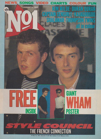 Number One Magazine 1983 - The Style Council