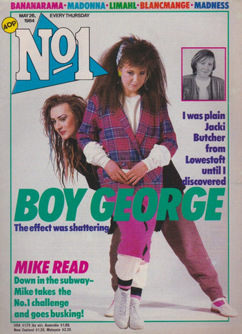 Number One Magazine 1984 - Boy George