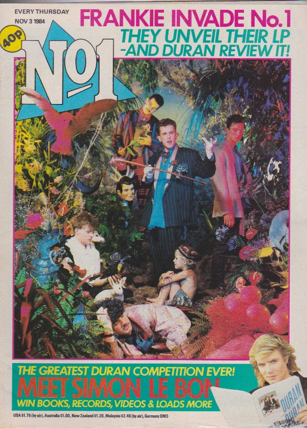 Number One Magazine 1984 - Frankie Goes To Hollywood
