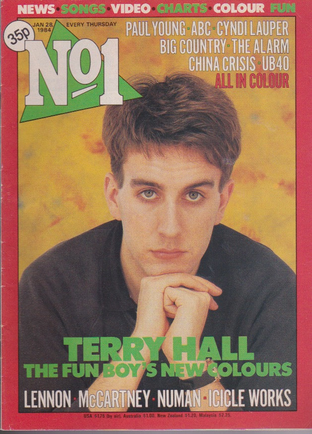 Number One Magazine 1984 - Terry Hall