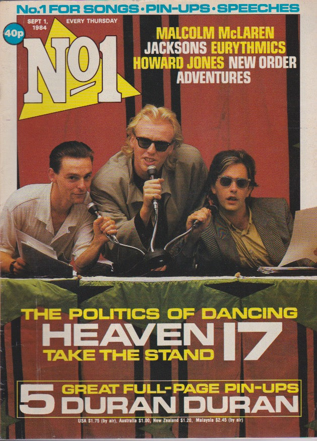 Number One Magazine 1984 - Heaven 17