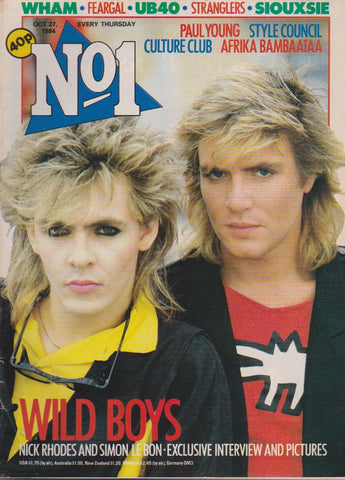 Number One Magazine 1984 - Duran Duran