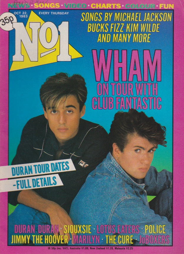 Number One Magazine 1983 - Wham George Michael