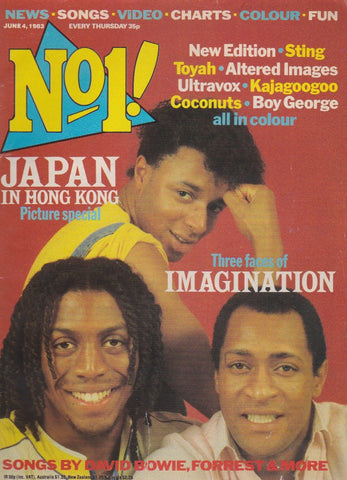 Number One Magazine 1983 - Imagination
