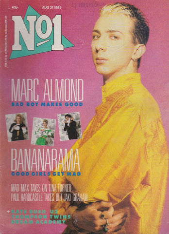 Number One Magazine 1985 - Marc Almond