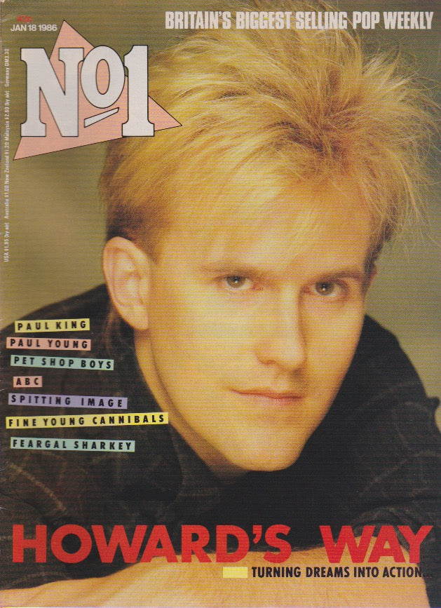 Number One Magazine 1986 - Howard Jones