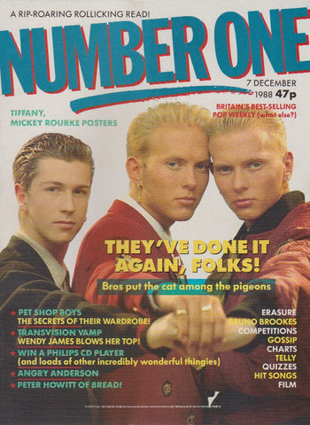 Number One Magazine 1988 - Bros