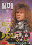 Number One Magazine 1987 - Joey Tempest Europe