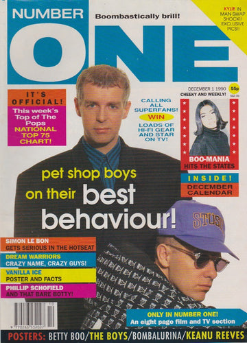 Number One Magazine 1990 - The Pet Shop Boys