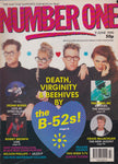 Number One Magazine 1990 - The B-52s