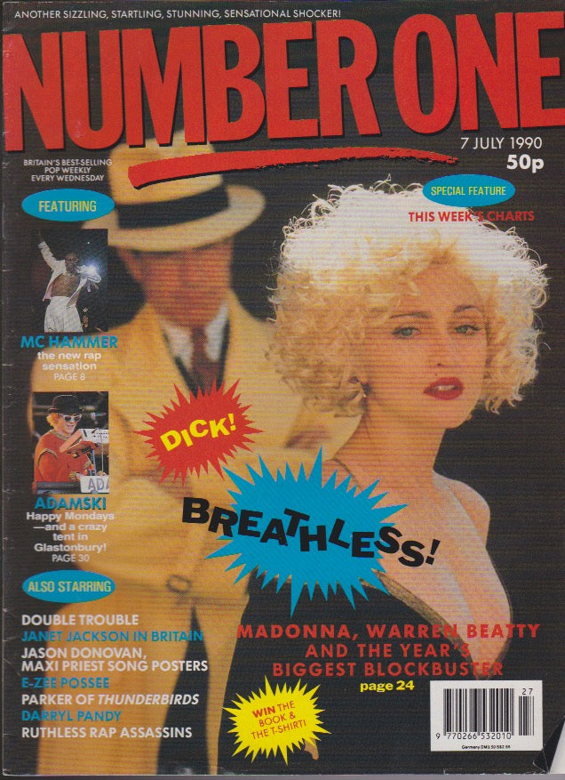 Number One Magazine 1990 - Madonna