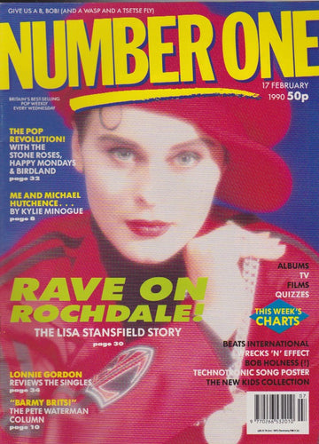 Number One Magazine 1990 - Lisa Stansfield
