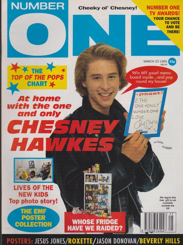 Number One Magazine 1991 - Chesney Hawkes