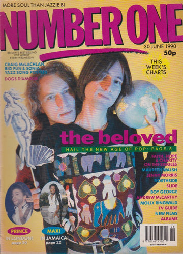 Number One Magazine 1990 - The Beloved