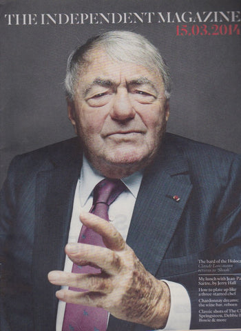 The Independant Magazine - Claude Lanzmann