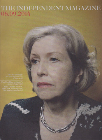 The Independant Magazine - Anne Reid