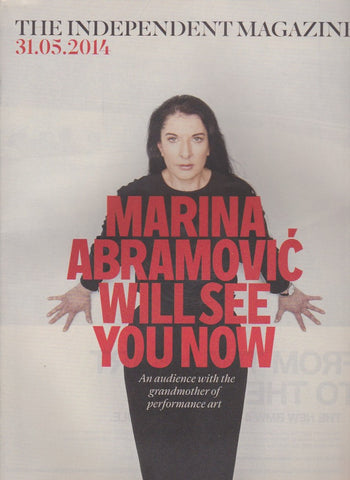 The Independant Magazine - Marina Abramović
