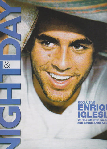 Night & Day Magazine - Enrique Iglesias