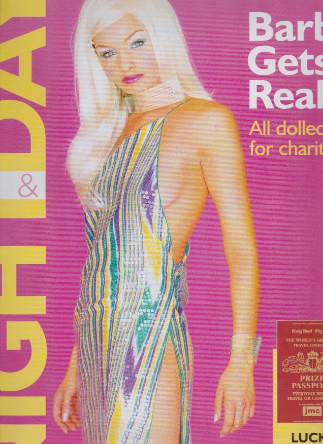 Night & Day Magazine - Barbie model Tom Graham