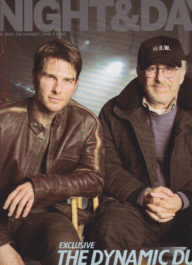 Night & Day Magazine - Tom Cruise & Steven Spielberg
