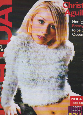 Night & Day Magazine - Christina Aguilera