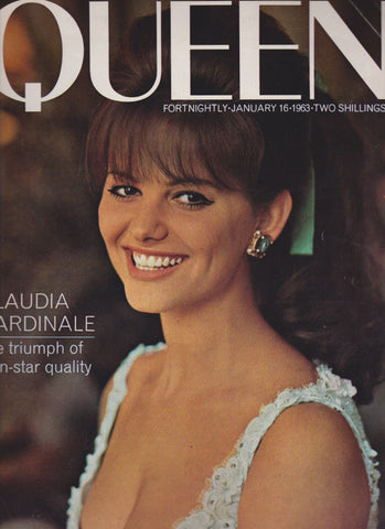Queen Magazine - Claudia Cardinale