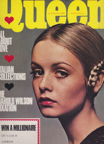 Queen Magazine - Twiggy