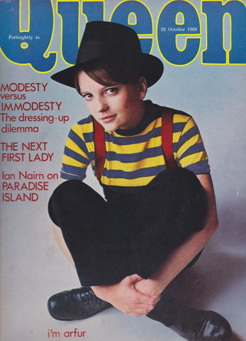 Queen Magazine - Ray Rathborne - Twiggy