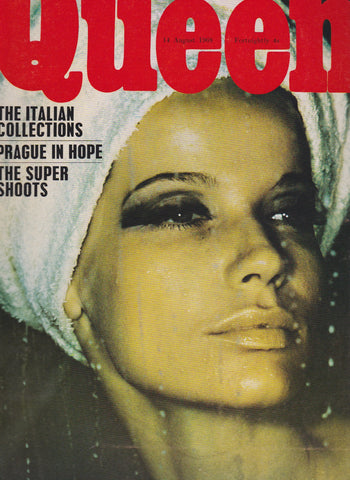 Queen Magazine - 1968 - Veruschka - Don McCullin