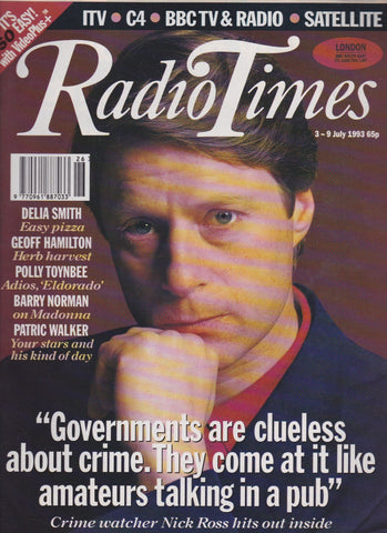 Radio Times Magazine - Nick Ross