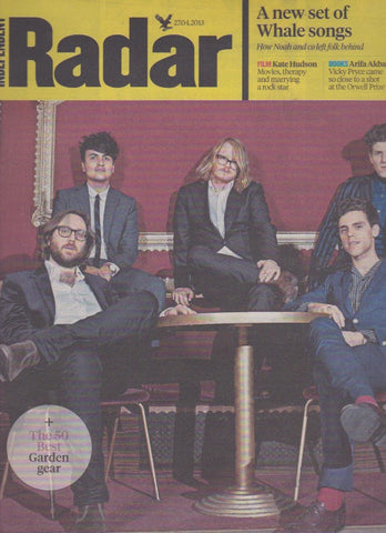 Radar Magazine - Noah and the Whale