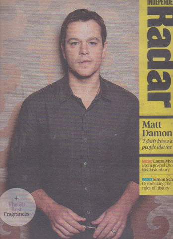 Radar Magazine - Matt Damon