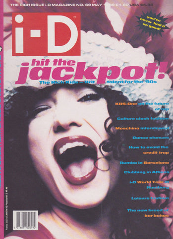 I-D Magazine 69 - Eddie Monsoon 1989